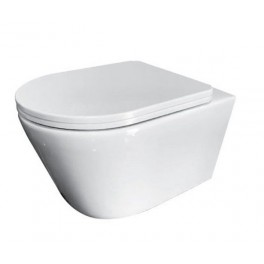 Чаша подвесного унитаза ASIGNATURA  Whirpool Simple Bend  с сиденьем 37822805